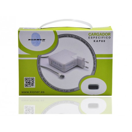 CARGADOR ESPECIFICO COMPATIBLE APPLE
