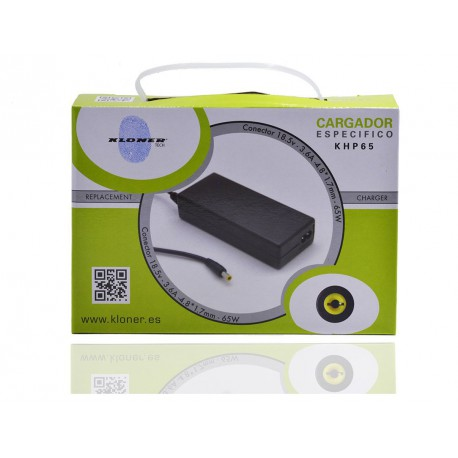 CARGADOR ESPECIFICO COMPATIBLE HP