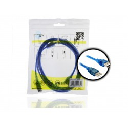 CABLE USB 2.0 H/M 2Mts