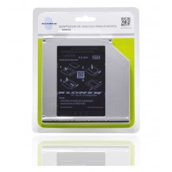 ADAPTADOR HDD/SSD PARA PORTATIL 9.5mm