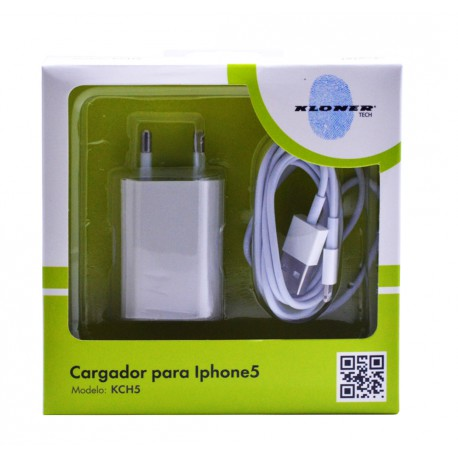 CARGADOR COMPATIBLE CON IPHONE 5/5S/5C/6/6Plus/6S/6Plus