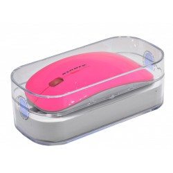 RATÓN SLIM WIRELESS ROSA FLORESCENTE