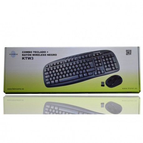 COMBO TECLADO+ RATON WIRELESS