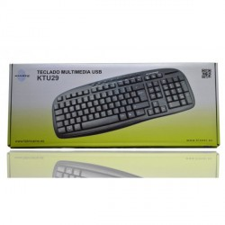 TECLADO MULTIMEDIA USB