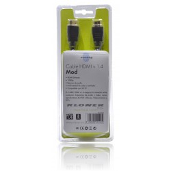 CABLE HDMI 1.4 ETHERNET 3 M C/BLISTER